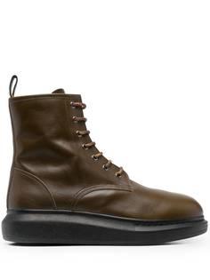 Alexander McQueen ботинки Hybrid на шнуровке