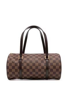Louis Vuitton сумка-тоут Damier Ebène Papillon 30 2003-го года