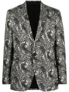 Etro пиджак с принтом