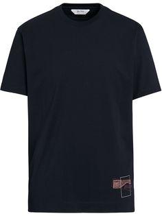 Z Zegna футболка с короткими рукавами и абстрактным принтом