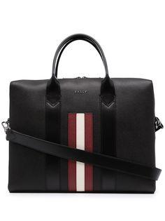 Bally портфель Elter с контрастными полосками