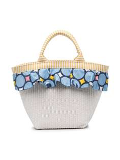Simonetta пляжная сумка с оборками