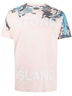 Stone Island футболка с принтом пейсли