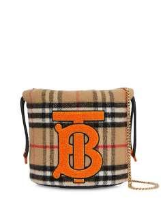 Burberry Kids сумка на плечо в клетку Vintage Check