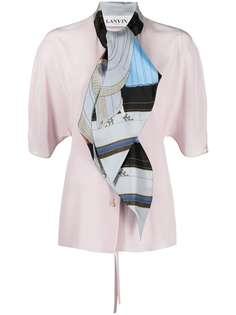 LANVIN блузка с шарфом