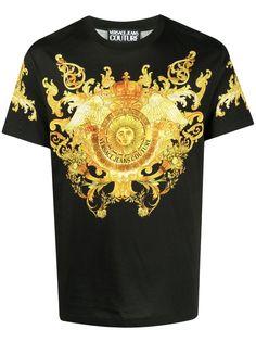 Versace Jeans Couture футболка с принтом Barocco