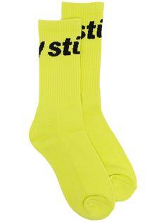 Stussy носки вязки интарсия с логотипом