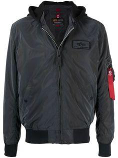 Alpha Industries светоотражающая куртка MA-1 LW HD