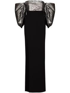 Solace London вечернее платье Luna с открытыми плечами