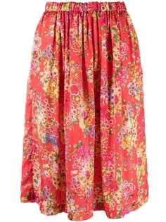 Comme Des Garçons Comme Des Garçons платье миди с цветочным принтом