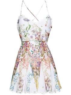 Charo Ruiz Ibiza платье мини Marlene с цветочным принтом
