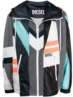 Diesel куртка в технике пэчворк