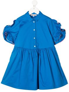 Emilio Pucci Junior платье-рубашка с оборками