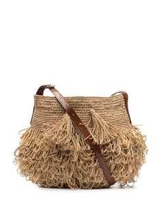 IBELIV сумка через плечо с бахромой
