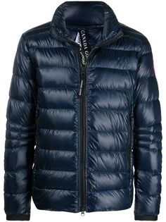 Canada Goose куртка Crofton Down из переработанного нейлона