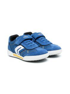 Geox Kids кроссовки на шнуровке с перфорацией