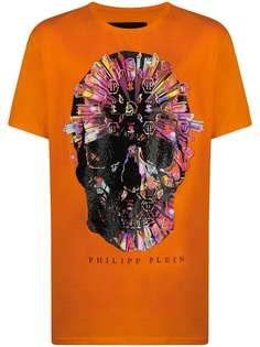 Philipp Plein футболка с логотипом Skull