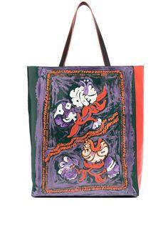 Marni сумка-тоут с цветочным принтом