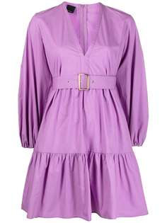 Pinko короткое платье со сборками