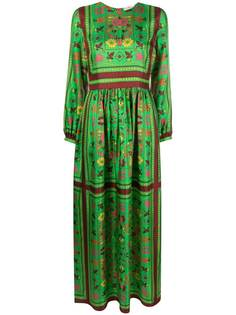 Tory Burch платье макси с принтом