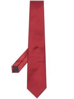LANVIN галстук с заостренным концом