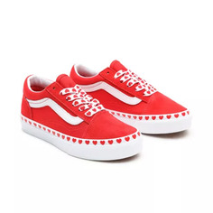 Кеды Детские кеды Heart Foxing Kids Old Skool Vans