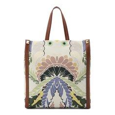 Текстильная сумка-шопер Valentino