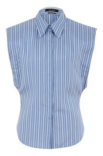Шелковая блузка в полоску Isabel Marant