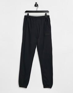 Черные джоггеры adidas Originals-Черный цвет