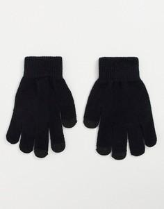 Черные перчатки Aldo-Черный цвет