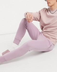 Сиреневые джоггеры от комплекта Topman-Фиолетовый цвет