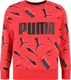 Свитшот для мальчиков Puma Alpha, размер 152-158