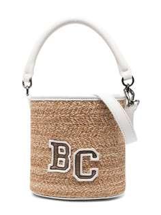 Brunello Cucinelli Kids плетеная сумка-ведро