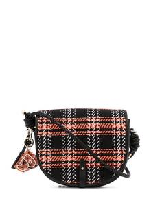BAPY BY *A BATHING APE® плетеная сумка через плечо с узором тартан