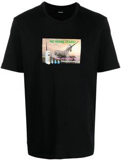 Diesel футболка T-Just-A34 с графичным принтом