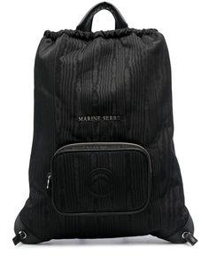 Marine Serre рюкзак с кулиской