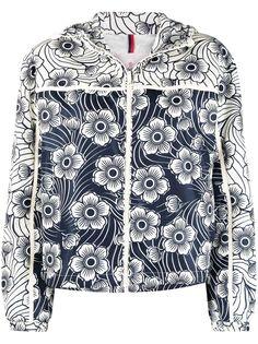 Moncler куртка Keragan с цветочным принтом