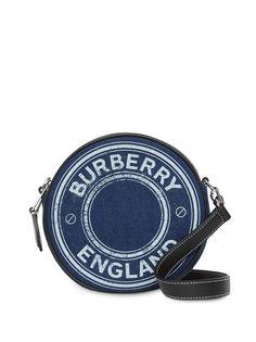 Burberry мини-сумка Louise с логотипом