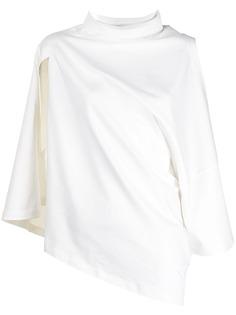 Ader Error платье-футболка асимметричного кроя