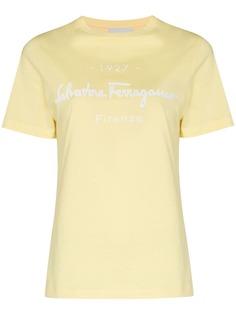 Salvatore Ferragamo футболка с логотипом
