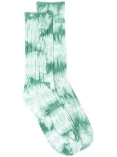 Stussy носки в рубчик