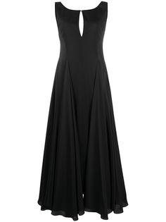 Nina Ricci платье годе с вырезом