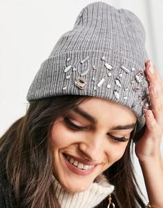 Серая шапка-бини Aldo-Серый