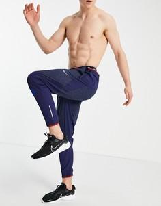 Темно-синие джоггеры Nike Running Wild Run Phemon Elite-Темно-синий