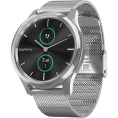 Смарт-часы Garmin Vivomove Luxe Milanese Silver (010-02241-23)