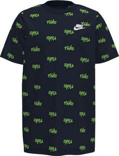 Подростковая футболка Script Older Kids (Boys) Printed T-Shirt Nike