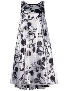 Comme Des Garçons платье с принтом Mickey Mouse