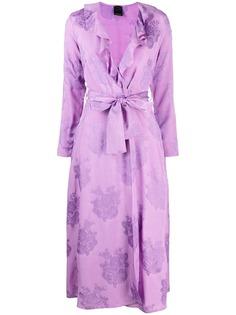 Pinko платье с запахом и оборками