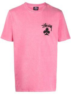Stussy футболка Club с логотипом