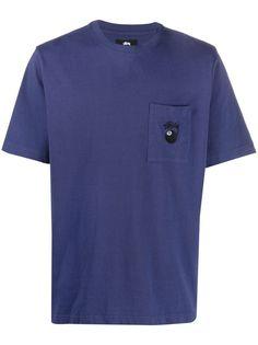 Stussy футболка 8 Ball с карманом